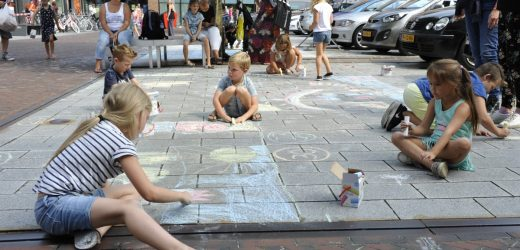 Kunst op straat.