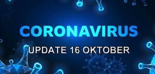 Coronavirus update – vrijdag 16 oktober