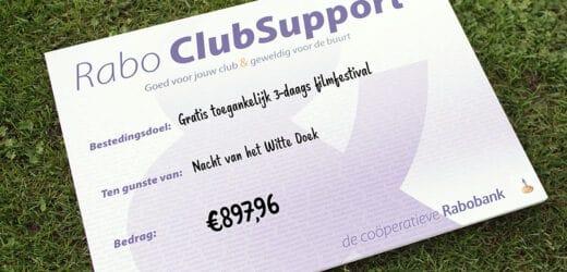 Rabo ClubSupport actie