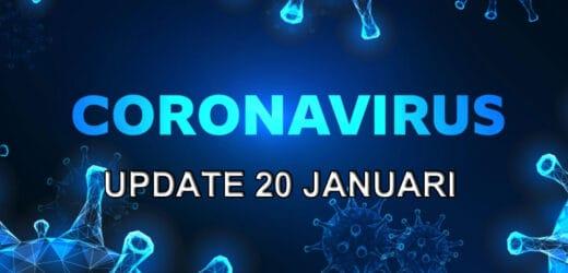Coronavirus update – woensdag 20 januari
