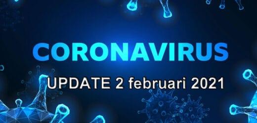 Coronavirus update – dinsdag 2 februari