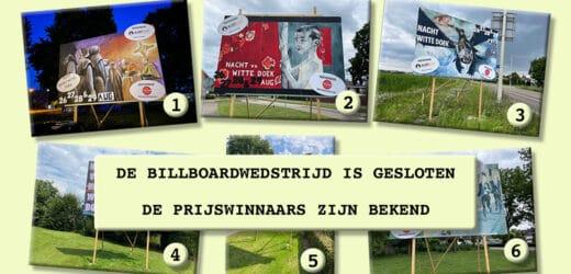 Billboardwedstrijd gesloten